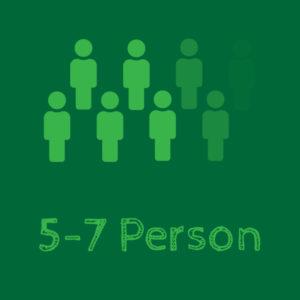 5 - 7 Person